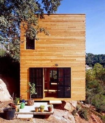 casa madera vertical