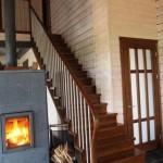 interior casa madera