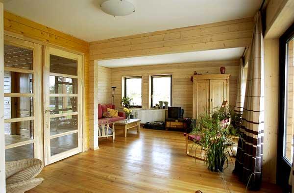 Galeria catalogo casas de madera prefabricadas for Imagen de interior de casas