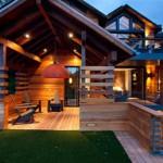 casa madera interior