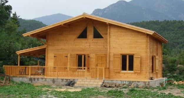 Casas de madera precios imagui for Prefabricadas madera