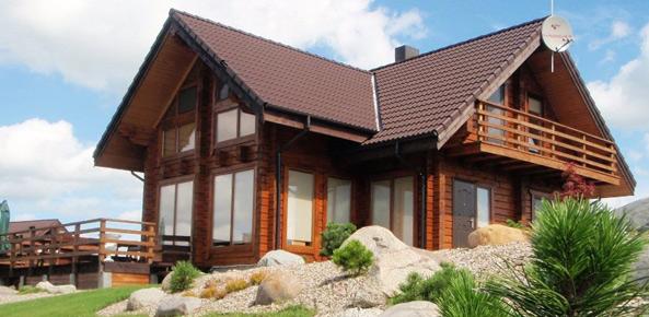 Casas de madera prefabricadas modulares y originales - Casas prefabricada de madera ...