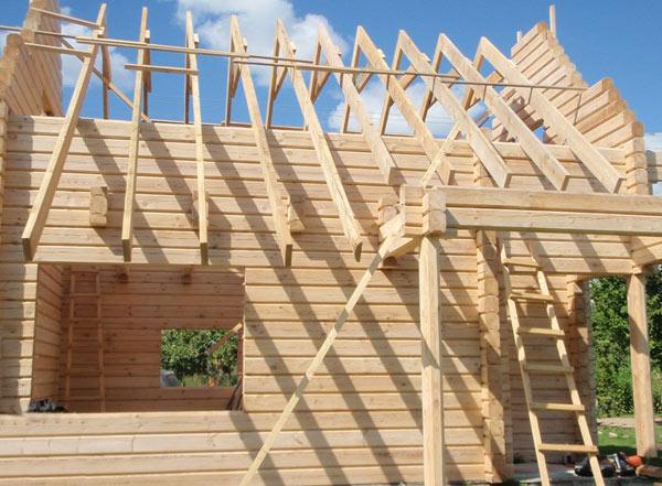 Tipos de edificaci n casas de madera prefabricadas - Construccion de porche de madera ...