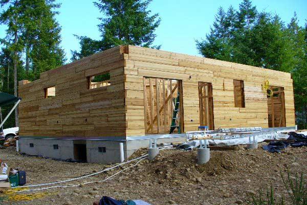 Galeria catalogo casas de madera prefabricadas for Modelos de techos para galerias