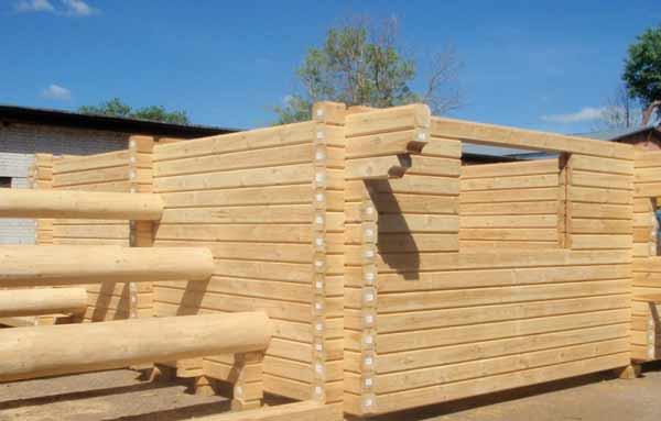 Fotos de construccion en madera de caba as casa de troncos - Construccion casas de madera ...