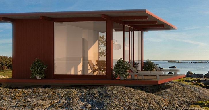 casa de madera bioclimatica