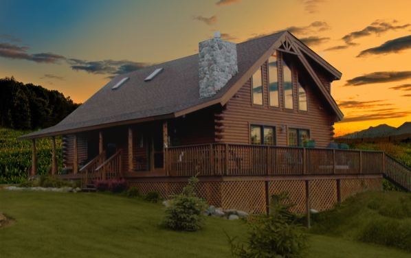 Casas de madera personalizadas casas de madera prefabricadas - Fotos de casas de campo de madera ...