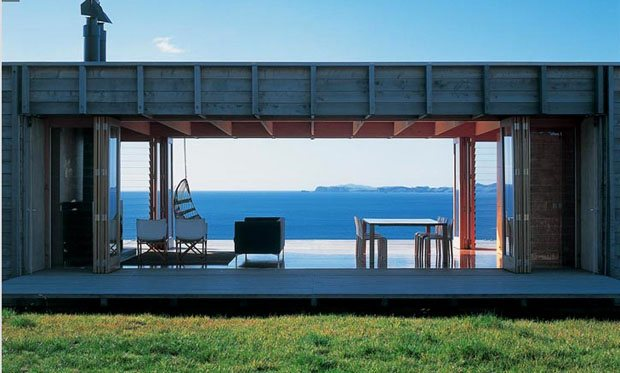 Casa bach contenedor de madera casas de madera - Casas prefabricadas contenedores ...