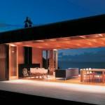 Salon casa madera