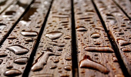 mueble madera exterior: