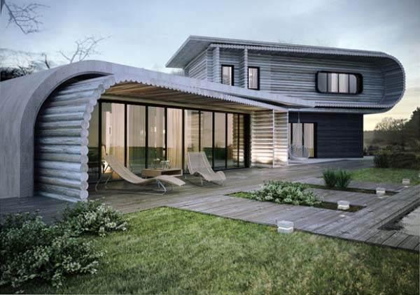 S-Casa. Preciosa casa de diseño   Casas de Madera Prefabricadas