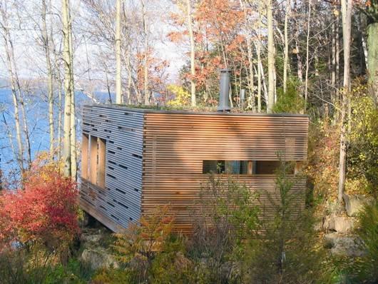 Caba a de cedro y madera laminada casas de madera - Casas de madera laminada ...