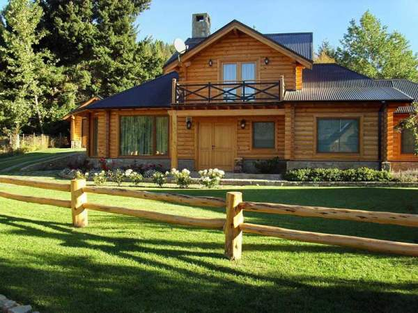 Dise o sostenible para la construcci n de la casa casas - Fotos casas de madera prefabricadas ...