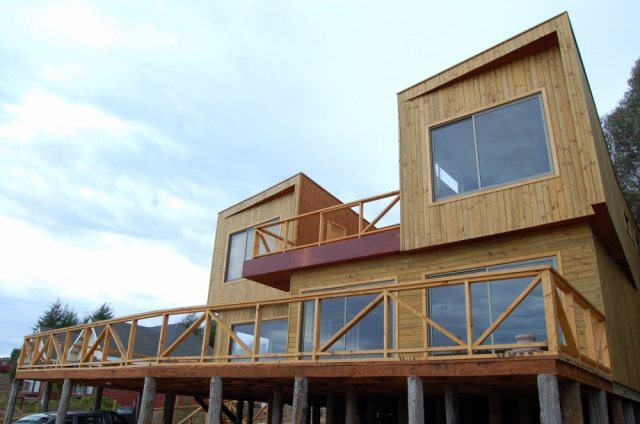 Casa de veraneo maitencillo casas de madera prefabricadas - La casa de madera valencia ...