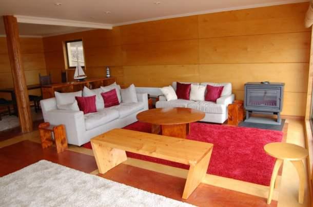 Casa de veraneo maitencillo casas de madera prefabricadas - Interior casas de madera ...