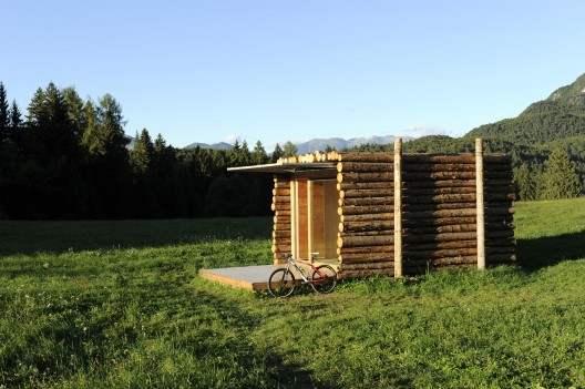 Yeta caba a integral de madera casas de madera for Proyectos minimalistas