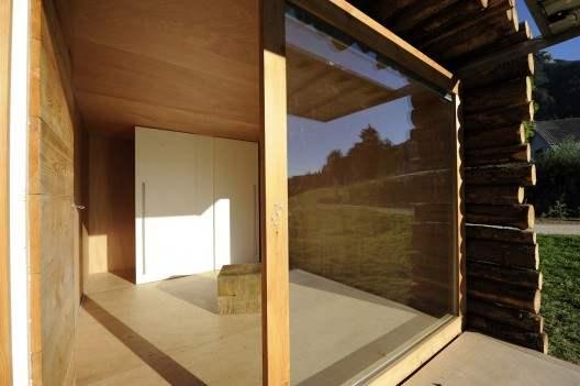 Yeta caba a integral de madera casas de madera - Aislar paredes interiores ...