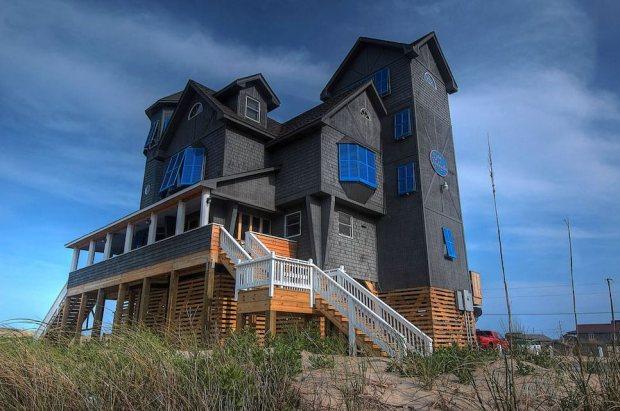 Casa serendipity durmiendo sobre el mar casas de madera - Casas en el mar ...